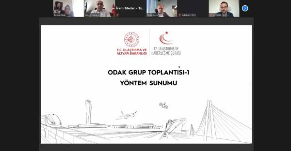 12. Ulaştırma ve Haberleşme Şûrası hazırlık çalışmaları kapsamında Odak Grup toplantılarının ilki gerçekleştirildi.