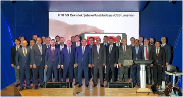 5G Lansmanı İstanbul'da Yapıldı