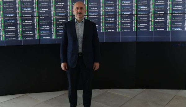 Bakan Karaismailoğlu Küçük Çamlıca Tv Radyo Kulesi'ndeki Çalışmaları İnceledi