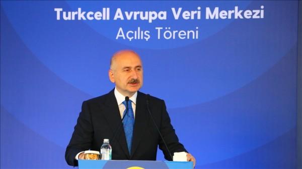 """Bakan Karaismailoğlu: """"Türkiye'nin verisi, Türkiye'de kalmalıdır"""""""
