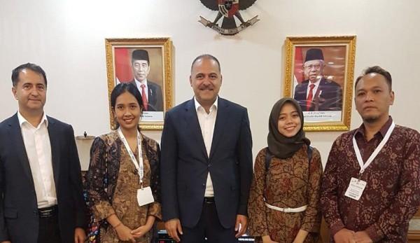 Bakan Yardımcısı Sayan Endonezya'da